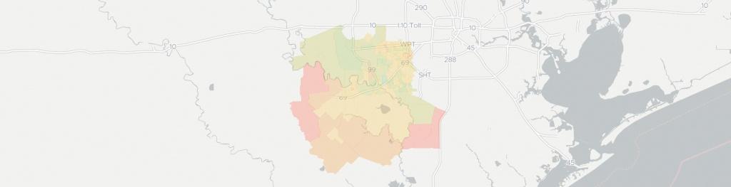 Internet Providers In Richmond, Tx: Compare 21 Providers - Map Of Richmond Texas Area