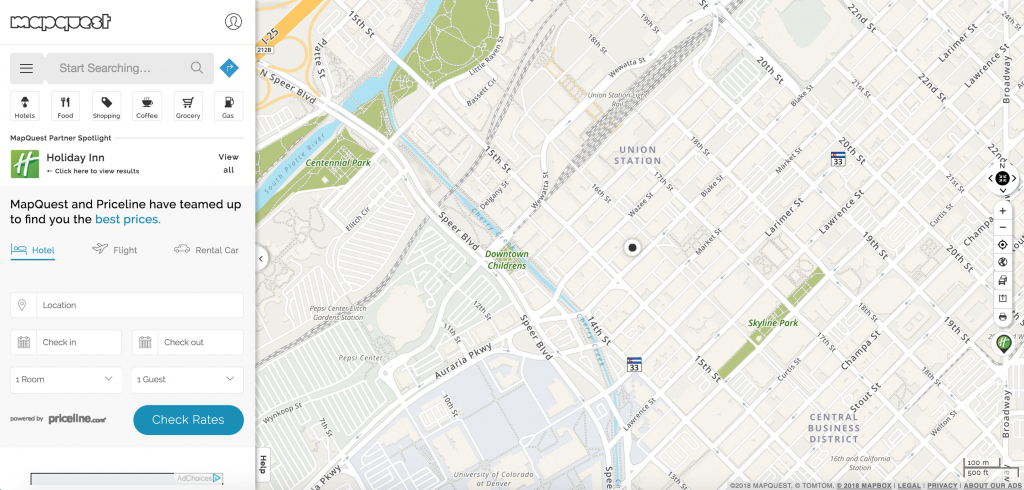 Introducing Single Search – Mapquest   Help - Mapquest California Map