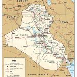Iraq Maps   Perry Castañeda Map Collection   Ut Library Online   Printable Map Of Iraq