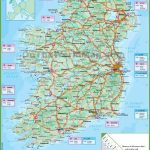 Ireland Road Map - Printable Road Map Of Ireland