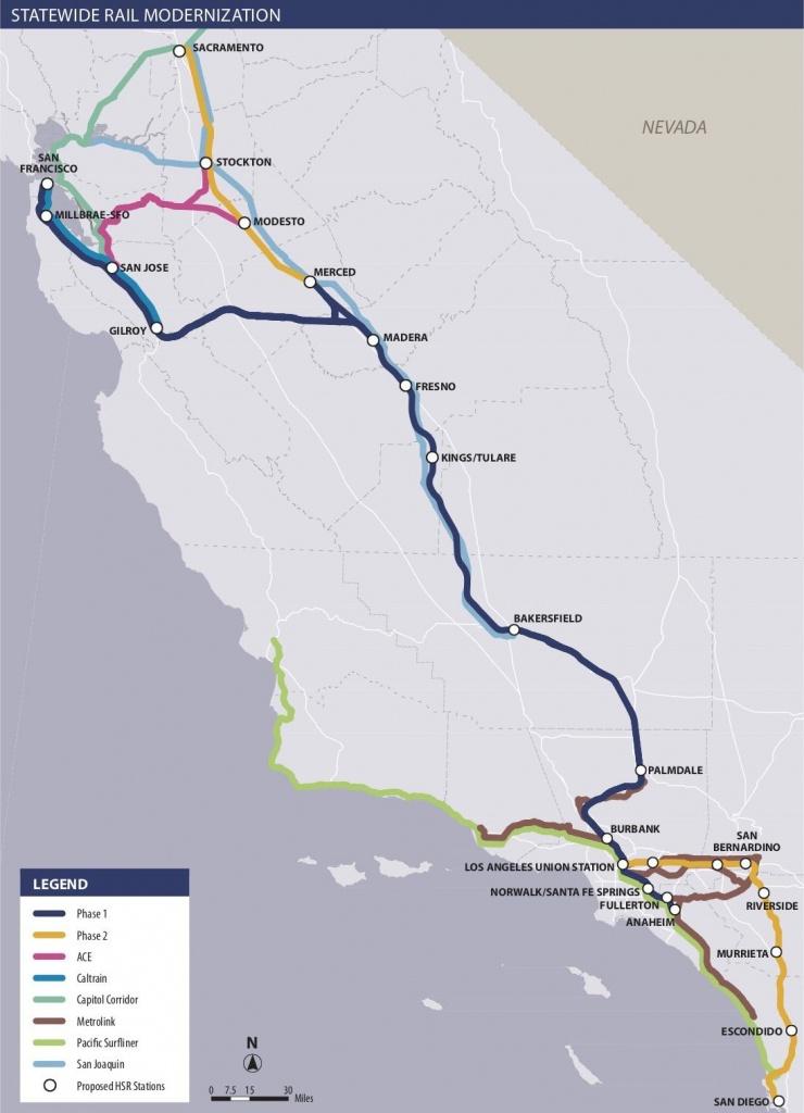 Is California High-Speed Rail Still Happening? - Curbed - California High Speed Rail Map