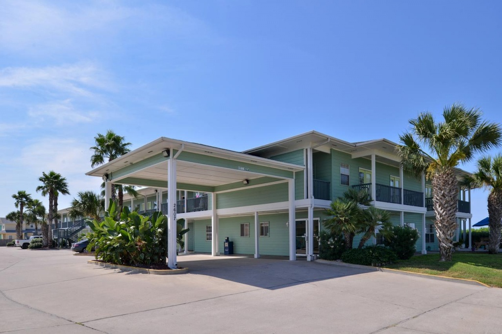 Island Hotel Port Aransas, Tx - Booking - Map Of Hotels In Port Aransas Texas