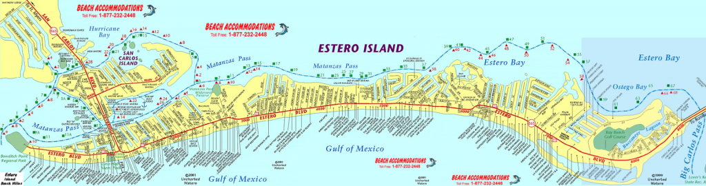 Island Map & Weather | Beach Accommodations Vacation Rentals | Fort - Map Of Fort Myers Beach Florida