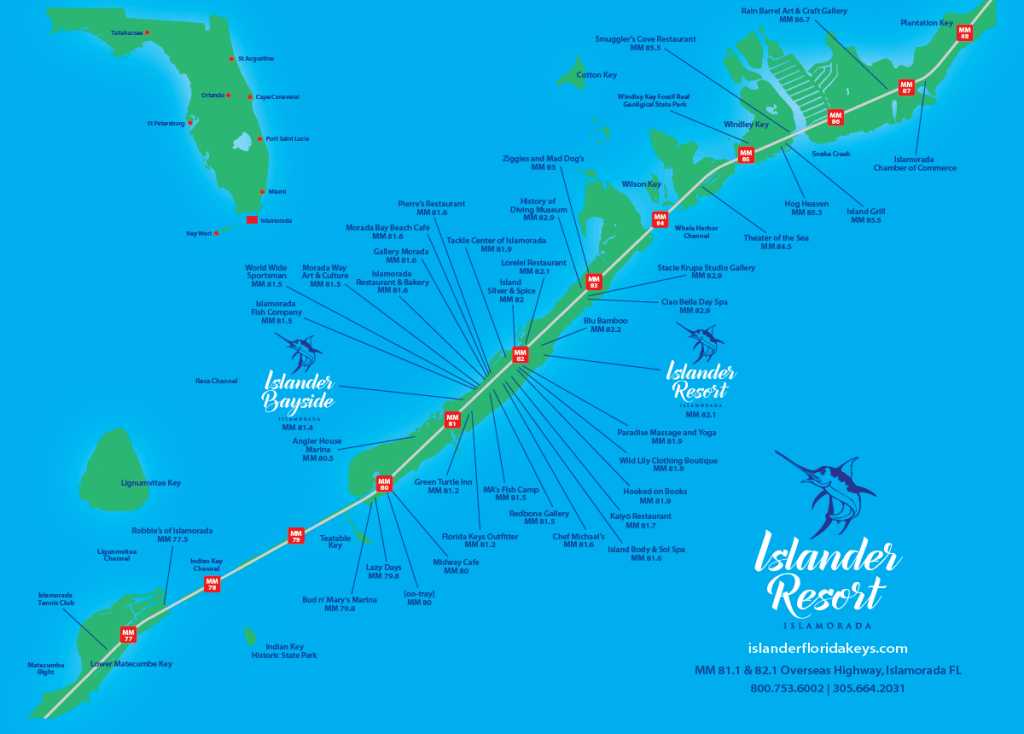 Islander Resort | Islamorada, Florida Keys - Show Me A Map Of The Florida Keys