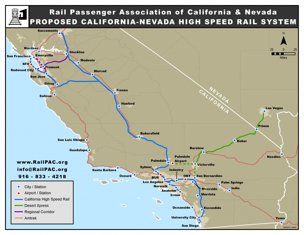 Issues – Railpac - California High Speed Rail Project Map