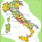 Italy Tourist Map   Printable Map Of Italy