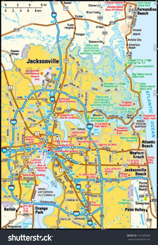 Jacksonville Fl Map | D1Softball - Map To Jacksonville Florida