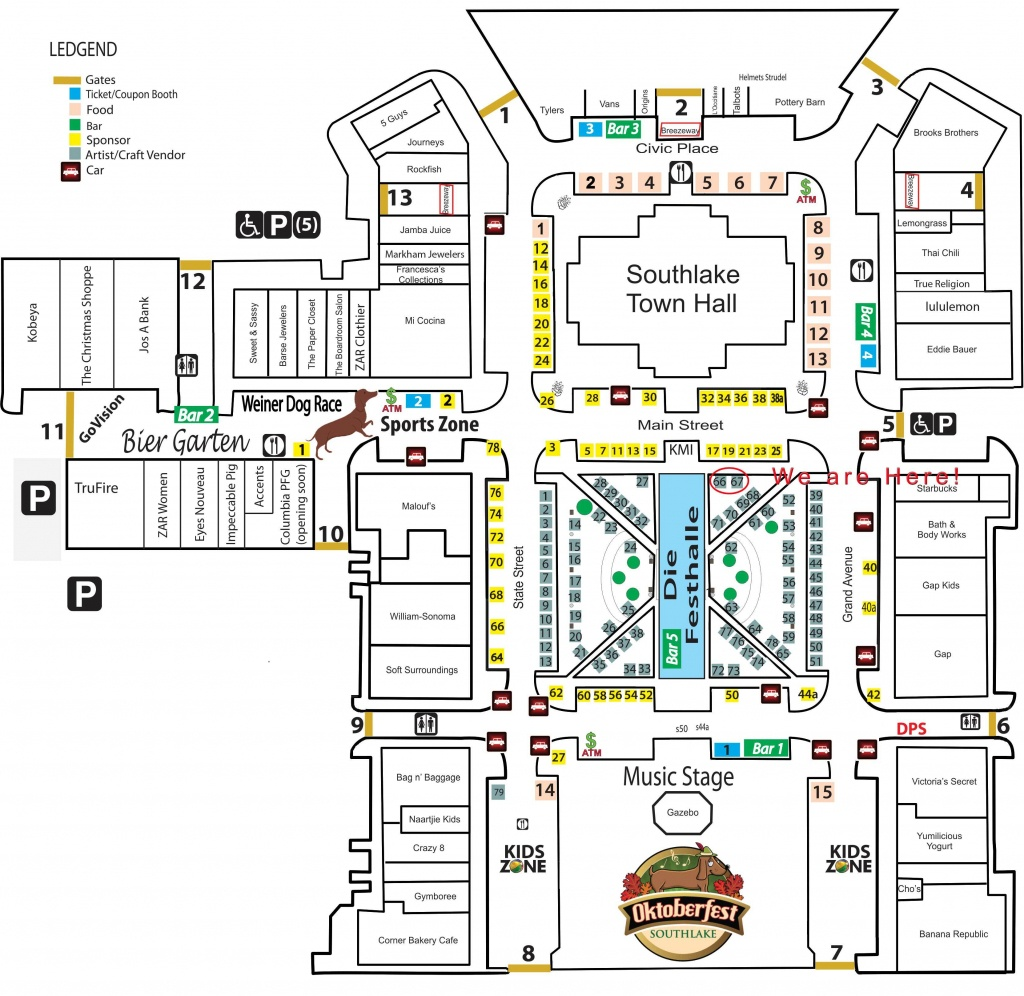Join Us For Southlake's Oktoberfest | Texas As I See It - Where Is Southlake Texas On A Map Of Texas
