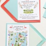 Jolly Edition Custom Wedding Custom Save The Date And Wedding Map   Printable Maps For Wedding Invitations Free