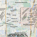 Judgmental Maps — Delray Beach, Flel Jefe Copr. 2015 El Jefe.   Del Ray Florida Map