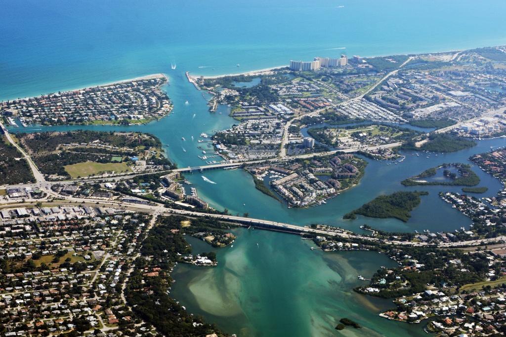 Jupiter, Florida - Wikipedia - Jupiter Inlet Florida Map