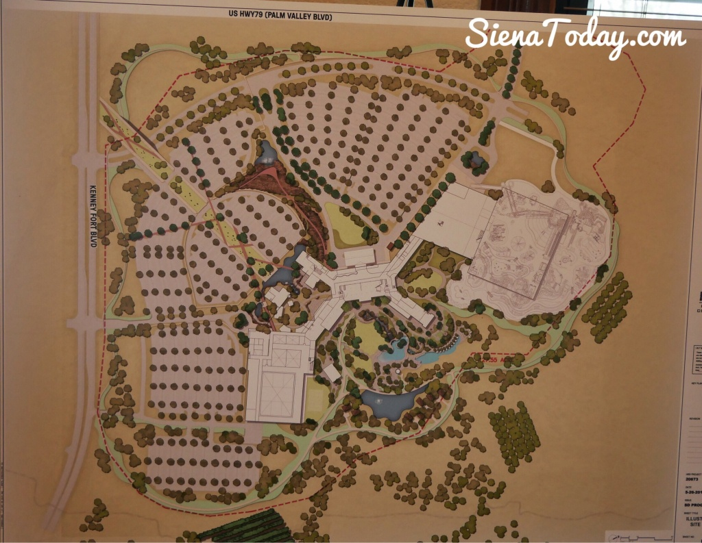 Kalahari – Map | Siena Today - Sienna Texas Map