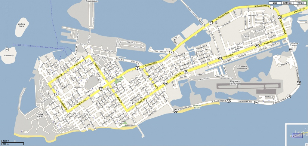 Karen Lane Realtor, Key West - Map Of Duval Street Key West Florida