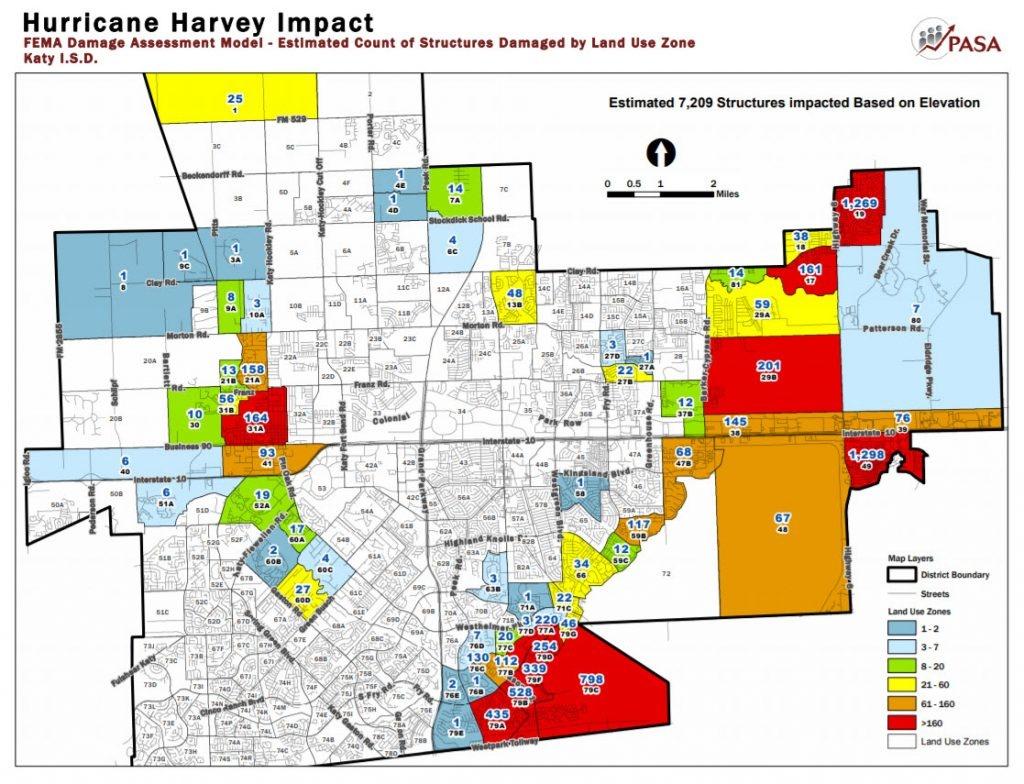 Katy Flood Zones - Texas Flood Map