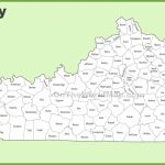 Kentucky County Map   Printable Map Of Kentucky Counties