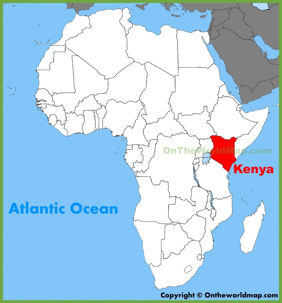 Kenya Maps   Maps Of Kenya - Printable Map Of Kenya