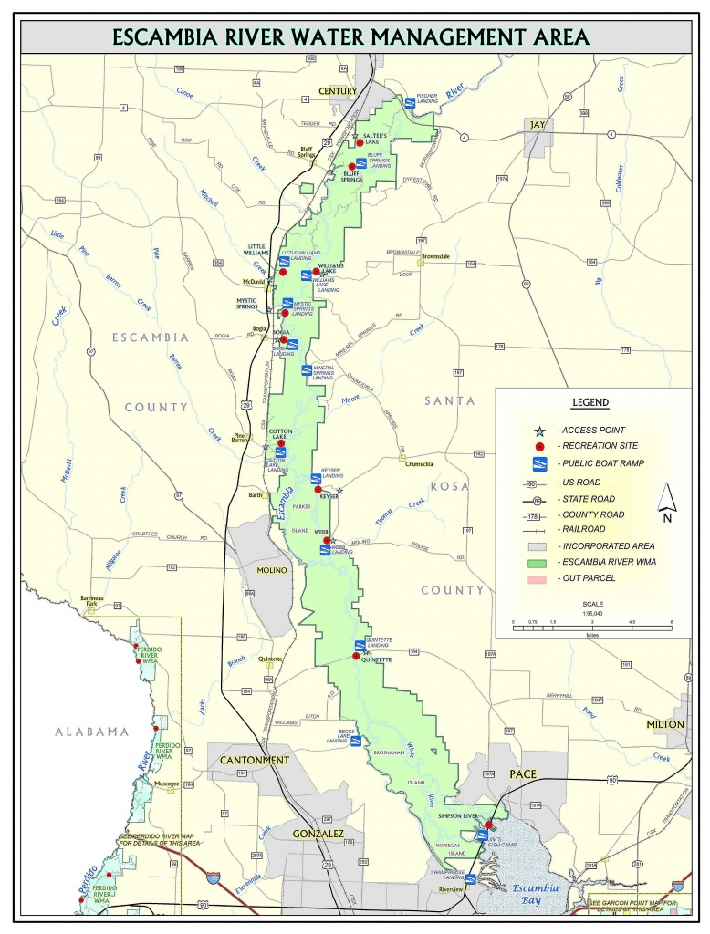 Keyser Landing | Northwest Florida Water Management District - Northwest Florida Water Management District Map