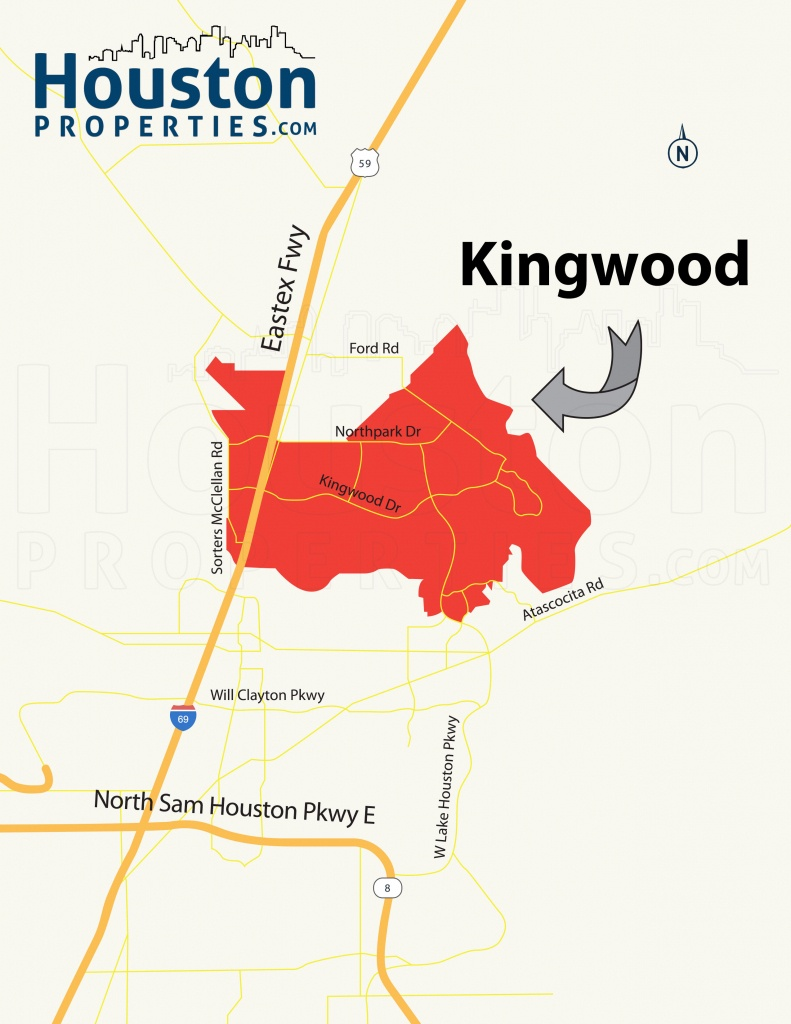 Kingwood Tx Real Estate | Kingwood Homes For Sale - New Caney Texas Map
