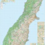 Kiwmaps: New Zealand's Best Selling Maps   New Zealand South Island Map Printable