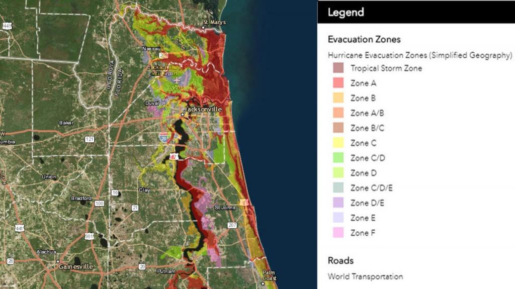 Know Your Flood/evacuation Zone - Nassau County Florida Flood Zone Map