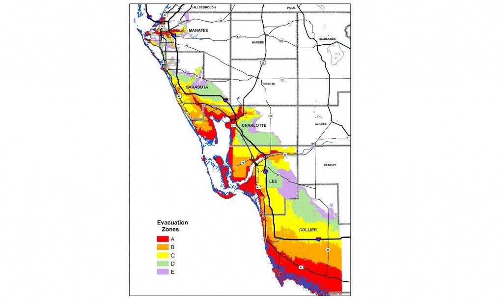 Know Your Hurricane Evacuation Zone   Wgcu News - Lee County Flood Zone Maps Florida