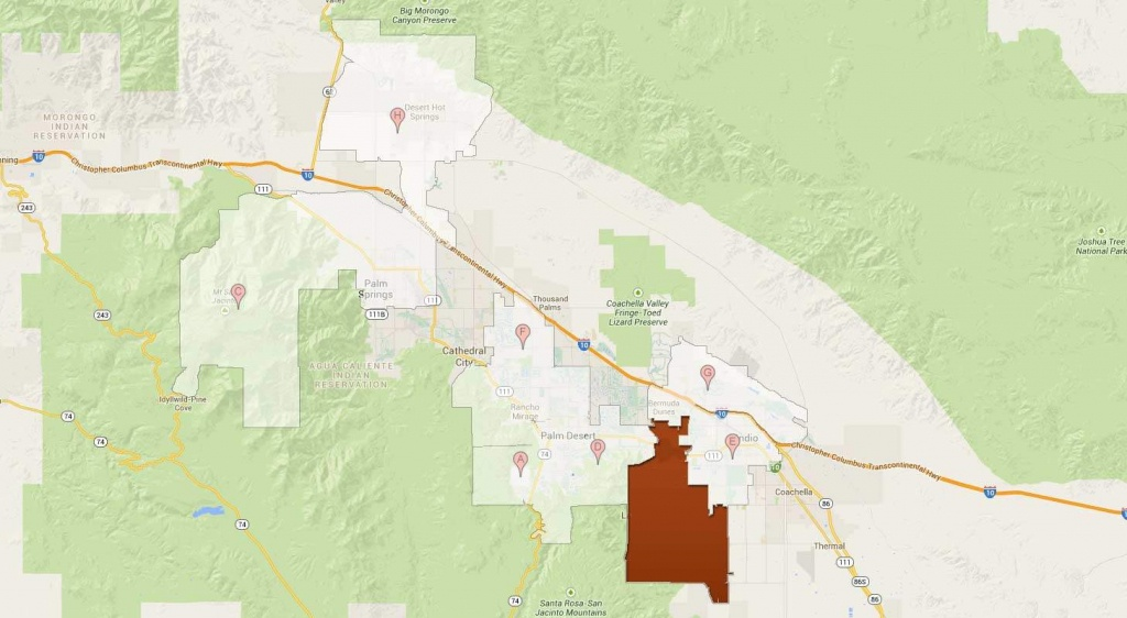 La Quinta Golf Communities - La Quinta California Map