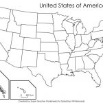 Label Map Of The Us Worksheet Blank Us Map Quiz Printable At Fill In - Us State Map Quiz Printable