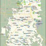 Lafayette Map |City Map Of Lafayette, Louisiana   Printable Map Of Lafayette La