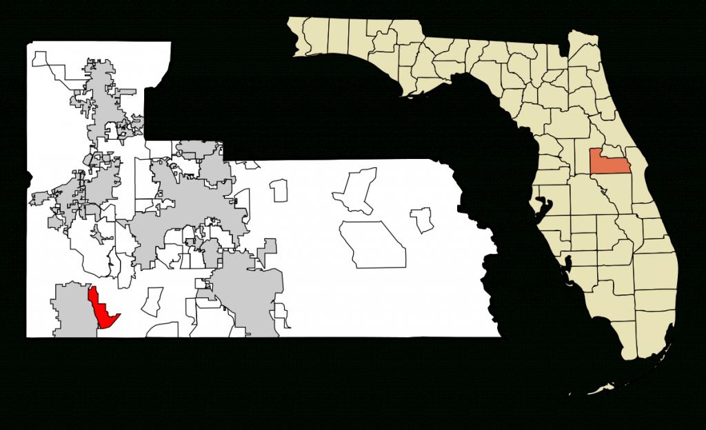 Lake Buena Vista, Florida - Wikipedia - Emerald Isle Florida Map