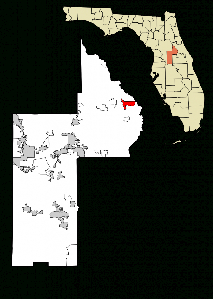 Lake Mack-Forest Hills, Florida - Wikipedia - Howey In The Hills Florida Map