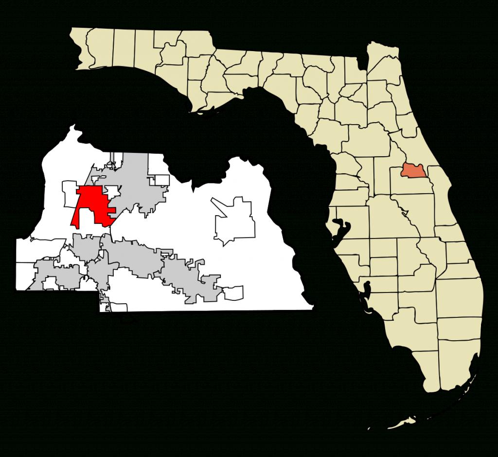 Lake Mary, Florida - Wikipedia - Map Of Lake Mary Florida And Surrounding Areas