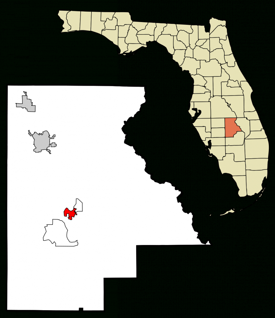 Lake Placid, Florida - Wikipedia - Bears In Florida Map