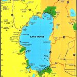 Lake Tahoe Area Maps | Detailed Lake Tahoe Area Mapregion   Tahoe City California Map
