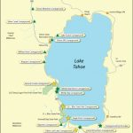 Lake Tahoe Campground Map - California - California Campgrounds Map