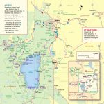 Lake Tahoe Maps And Reno Maps | Discover Reno Tahoe   Tahoe City California Map