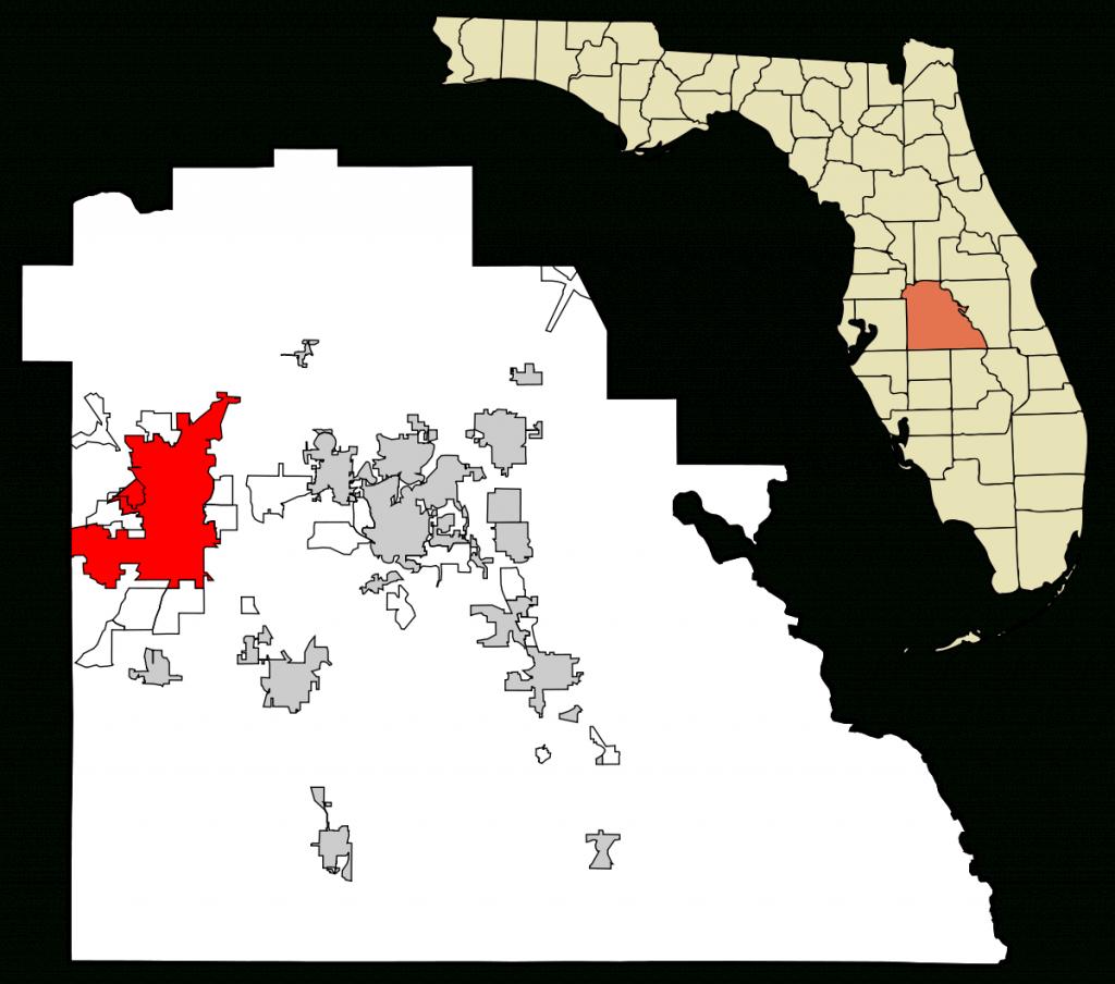 Lakeland, Florida - Wikipedia - Florida Sinkhole Map By County