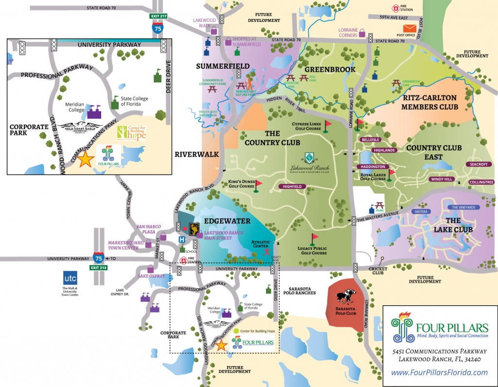 Lakewood Ranch Florida Map   Fysiotherapieamstelstreek - Lakewood Florida Map