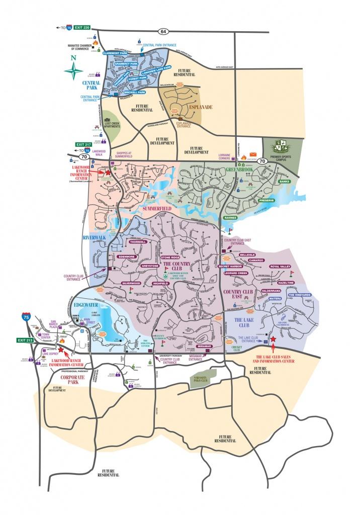 Lakewood Ranch Map - Lakewood Florida Map