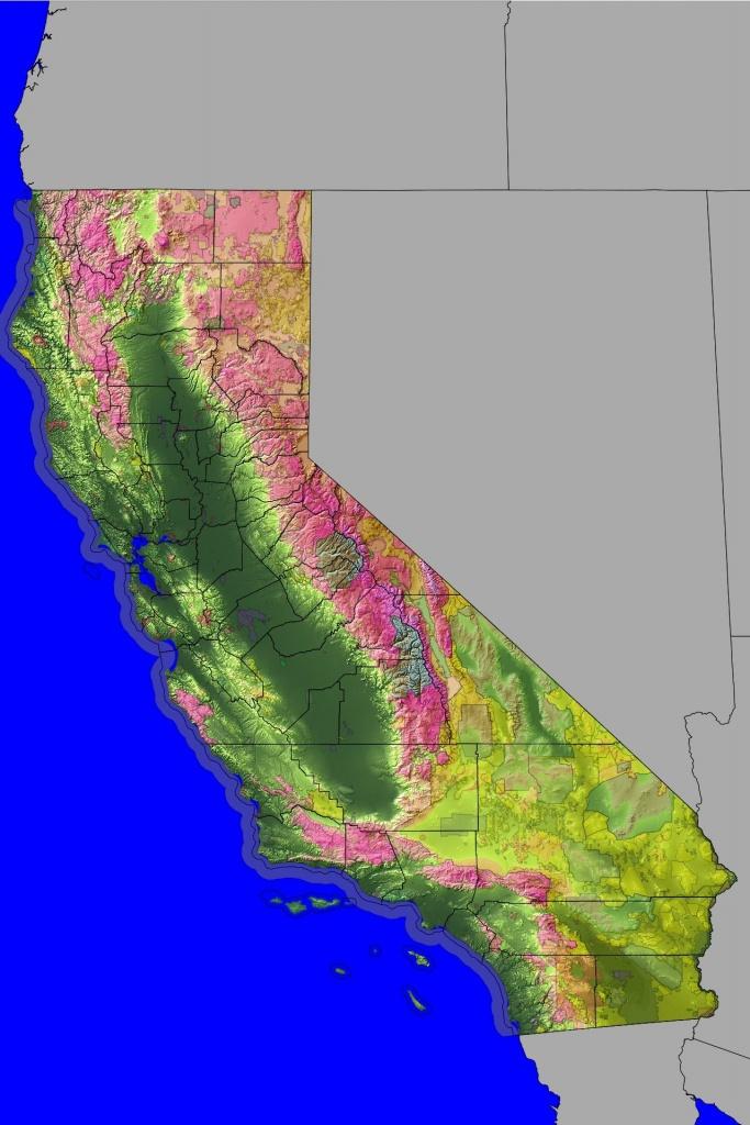 Land Ownership Map California | Geology: Geologic Maps | California - California Land Ownership Map