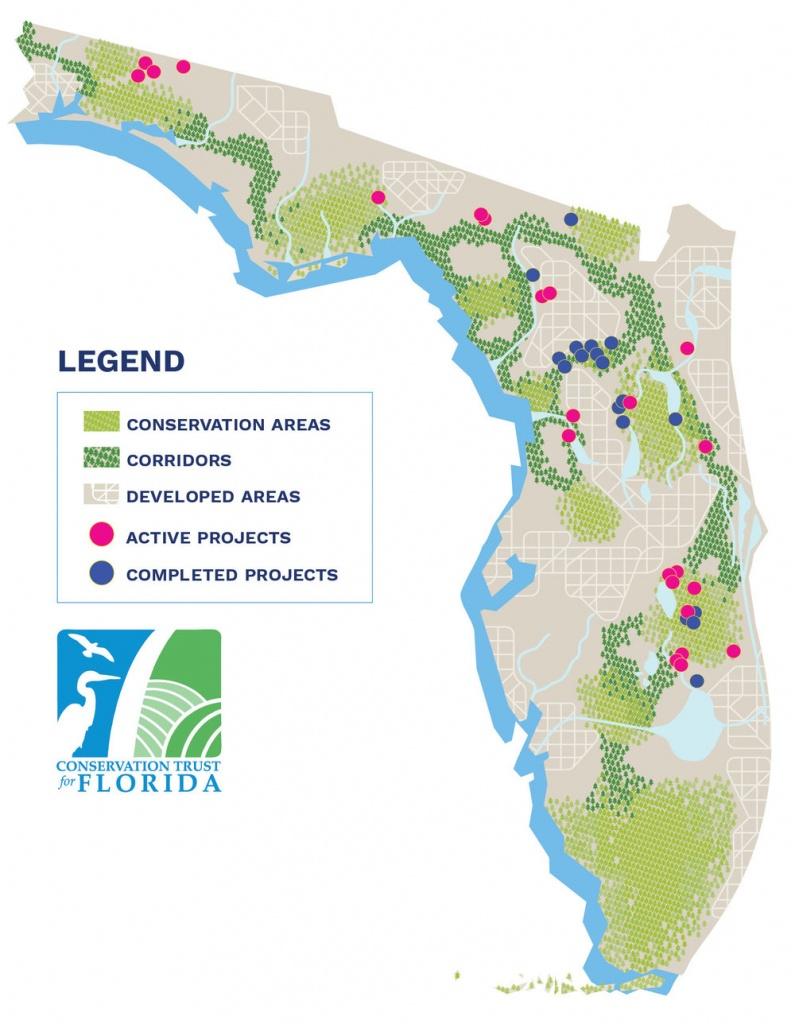 Lands Protected — Conservation Florida - Florida Wetlands Map