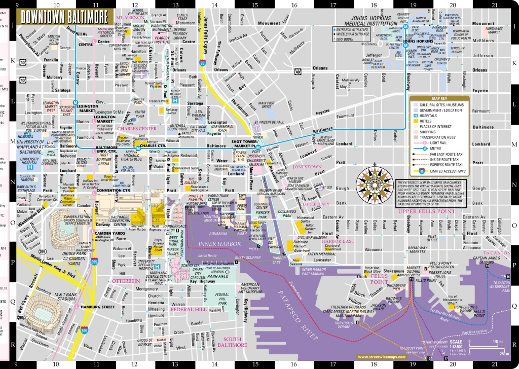 Large Baltimore Maps For Free Download And Print | High-Resolution - Printable Map Of Baltimore