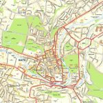 Large Bath Maps For Free Download And Print | High Resolution And   Bristol City Centre Map Printable