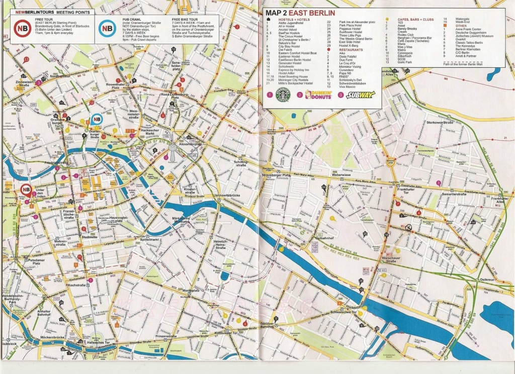 Large Berlin Maps For Free Download And Print | High-Resolution And - Printable Street Maps
