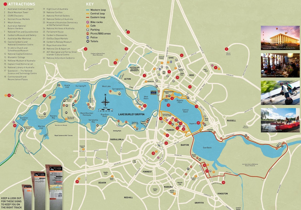 Large Canberra Maps For Free Download And Print | High-Resolution - Printable Map Of Canberra