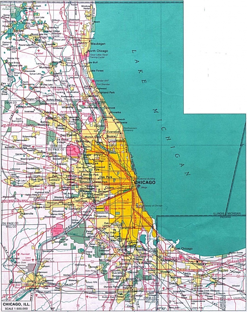 Large Chicago Maps For Free Download And Print   High-Resolution And - Map Of Chicago Attractions Printable