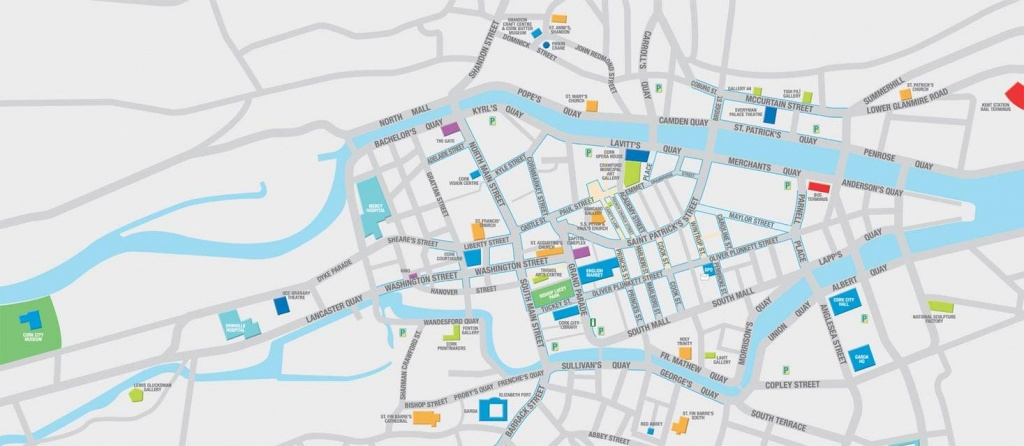 Large Cork Maps For Free Download   High-Resolution And Detailed - Cork City Map Printable
