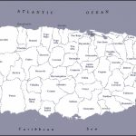 Large Detailed Administrative Map Of Puerto Rico. Puerto Rico Large   Printable Map Of Puerto Rico