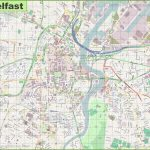 Large Detailed Map Of Belfast   Belfast City Centre Map Printable