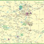 Large Detailed Map Of Colorado With Cities And Roads - Printable Map Of Colorado Cities