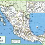 Large Detailed Map Of Mexico With Cities And Towns | Mexico | Map   Printable Map Of Mexico